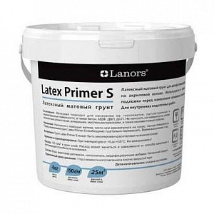 Lanors Latex Primer S 4 кг