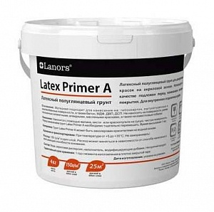 Lanors Latex Primer А 4 кг